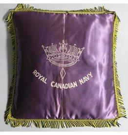 Royal Canadian Navy sweetheart pillow