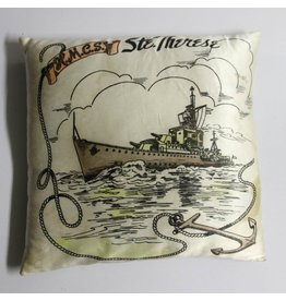HMCS Ste. Therese sweetheart pillow