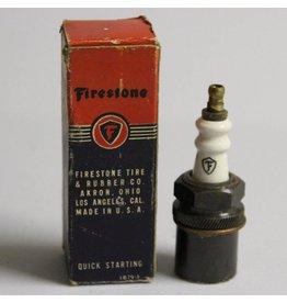 Vintage Firestone sparkplug