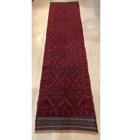 Tribal patterned carpet runner