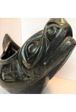 Sea Lion Concrete Casting with Resin Glaze