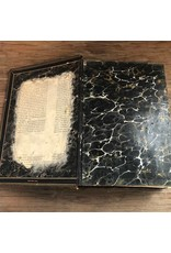 Book - The Parallel Bible, 1885 Oxford Press, leatherbound, gilt edges