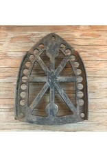 Trivet - cast iron, JAS Smart Mfg Co, sad iron