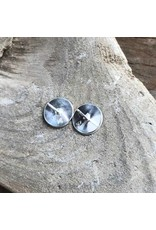 Earrings - sterling silver studs, Matthew McKay, Hummingbird