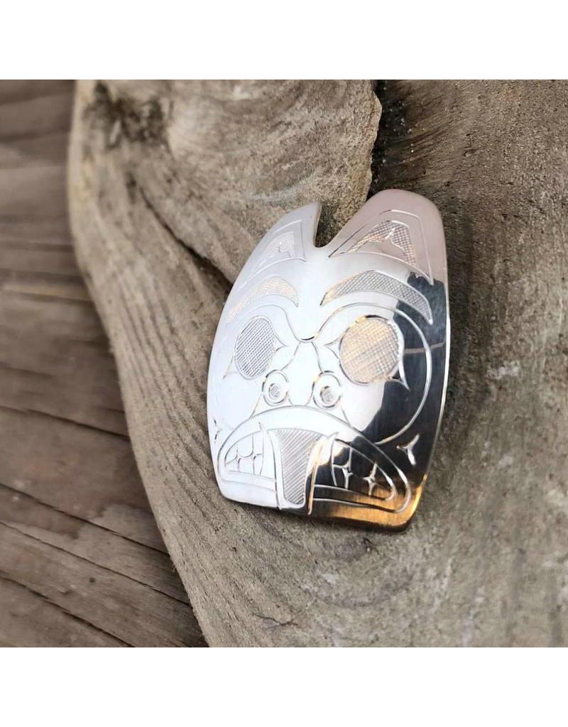 Pendant - Bear, silver, Matthew McKay