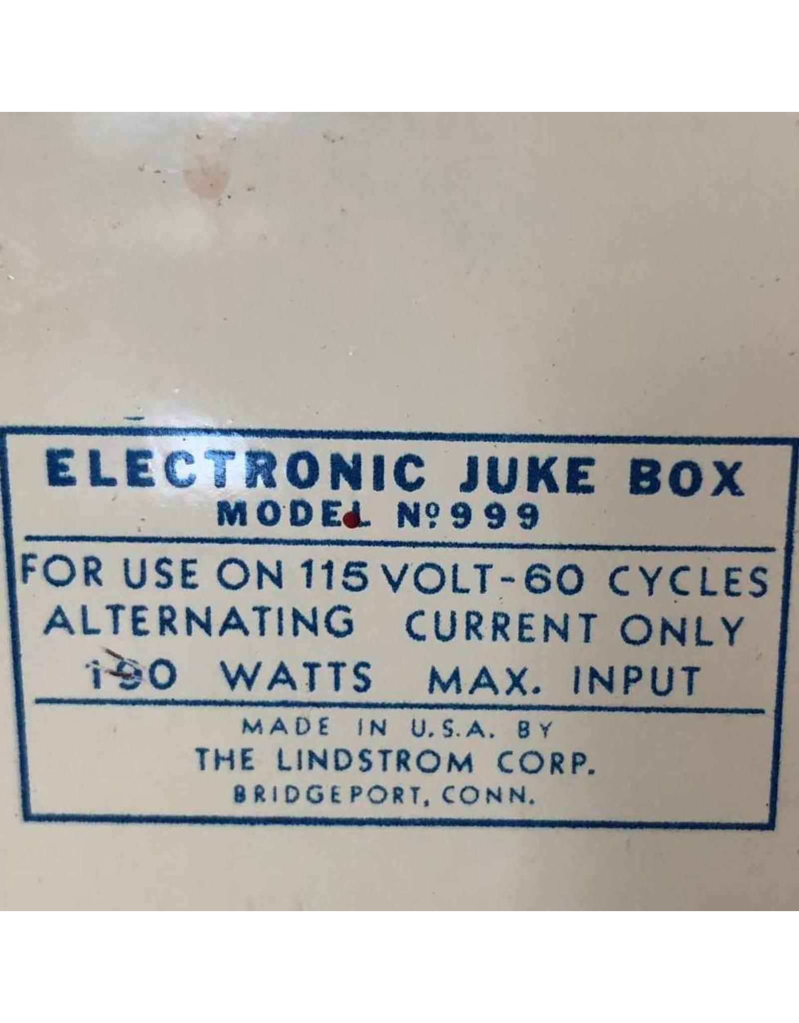 Record player - Bing Crosby Junior Jukebox Model No. 999