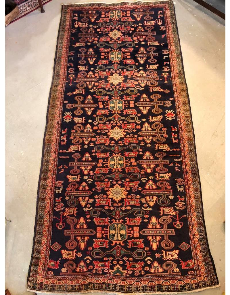 Carpet Persian 10 1 X 4 7 Dark Blue Background