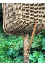 Basket on pole - collections basket