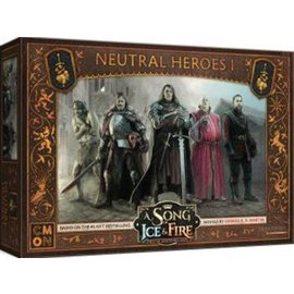 Cool Mini or Not A Song of Ice & Fire: Tabletop Miniatures Game  - Neutral (Mercenary) Heroes 1