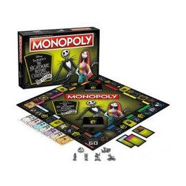 USAopoly Monopoly: The Nightmare Before Christmas 25th Anniversary