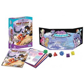 River Horse Ltd My Little Pony: Tails of Equestria RPG - The Curse of the Statuettes Adventure Story Box Set