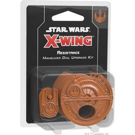 Fantasy Flight Star Wars X-Wing Second Edition:  Resistance Maneuver Dial Upgrade Kit
