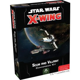 Fantasy Flight Star Wars X-Wing Second Edition: Scum and Villainy Conversion Kit