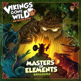 Lucky Duck Games Vikings Gone Wild: The Board Game Master of Elements Expansion