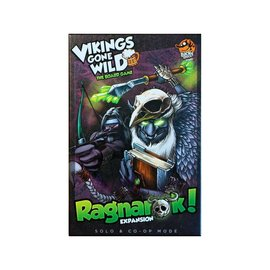 Lucky Duck Games Vikings Gone Wild: The Board Game Ragnarok Expansion