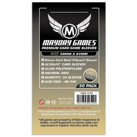 Mayday Games Mayday Sleeves: Premium Tribune Roman Card Size (49mm x 93mm) (50)