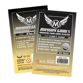 Mayday Games Mayday Sleeves: Premium Space Sleeves: 61mm x 103mm (50)