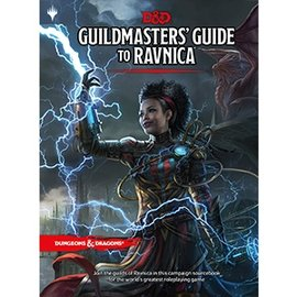 Wizards of the Coast Dungeons and Dragons RPG 5th Edition: Guildmaster's Guide to Ravnica