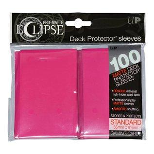 Ultra Pro 100ct Eclipse Pro-Matte Pink Standard Deck Protectors