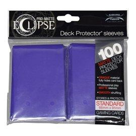 Ultra Pro 100ct Eclipse Pro-Matte Purple Standard Deck Protectors