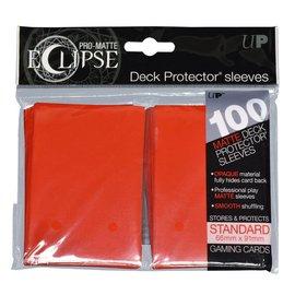 Ultra Pro 100ct Eclipse Pro-Matte Red Standard Deck Protectors