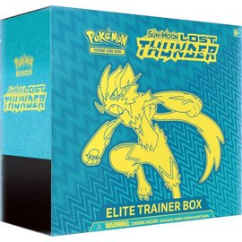 Pokemon International Pokemon Sun &  Moon: Lost Thunder Elite Trainer Box