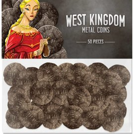 Renegade Architects of the West Kingdom Metal Coins
