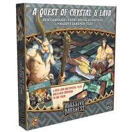 Cool Mini or Not Massive Darkness - A Quest of Crystal and Lava