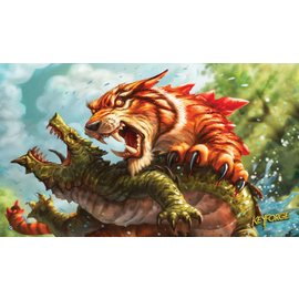 Fantasy Flight Keyforge Playmat - Mighty Tiger