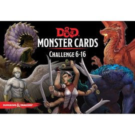 Wizards of the Coast Dungeons and Dragons: Monster Cards - Challenge 6-16 Deck