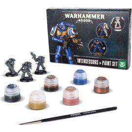 Games Workshop Intercessors + Paint Set (SL)