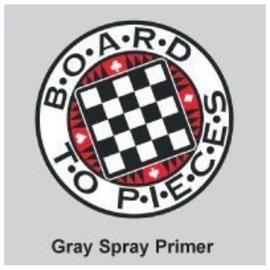 Board to Pieces Gray Spray Primer