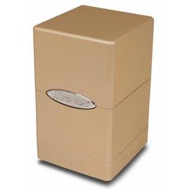 Ultra Pro Satin Tower Metallic Caramel Deck Box