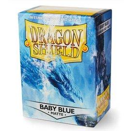 Dragon Shields Dragon Shields: (100) Matte Baby Blue
