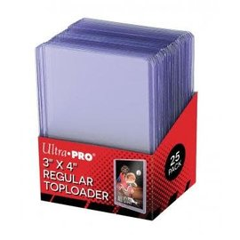 Ultra Pro Top Loader 3x4 (25 pack)