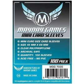 Mayday Games Mayday Sleeves: Mini-Euro Size (45mmx68mm)