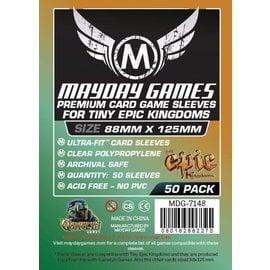 """Mayday Games Mayday Sleeves: 50 ct """"Tiny Epic Kingdoms"""" Card Sleeves 88 X 125 MM"""