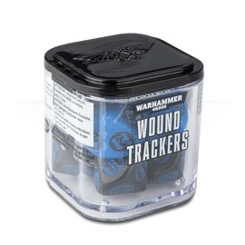 Games Workshop Citadel: Wound Trackers Dice Cube - Blue