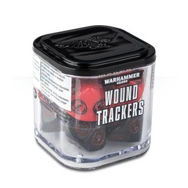 Games Workshop Citadel: Wound Trackers Dice Cube - Red