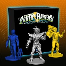 Renegade Power Rangers: Heroes of the Grid Shattered Grid