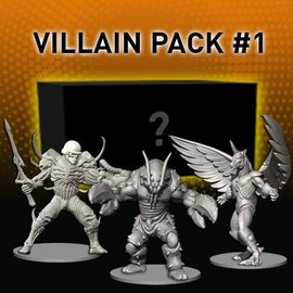 Renegade Power Rangers: Heroes of the Grid Villain Pack #1