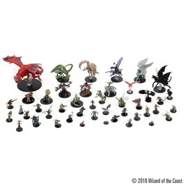 Wiz Kids Dungeons & Dragons Fantasy Miniatures: Icons of the Realms Set 10 Guildmaster's Guide to Ravnica Booster Pack