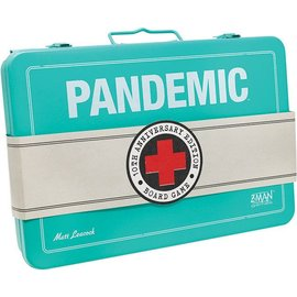 Z-Man Games Pandemic: 10th Anniversary Edition w/ Painted Figures