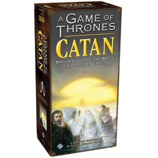 Mayfair Games Catan: A Game of Thrones - Brotherhood of the Watch 5-6 Player Extension
