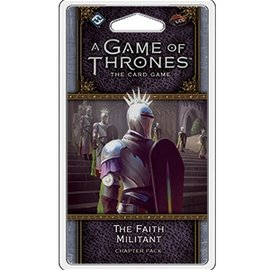 Fantasy Flight A Game of Thrones - The Card Game (Second Edition) - The Faith Miliant Chapter Pack