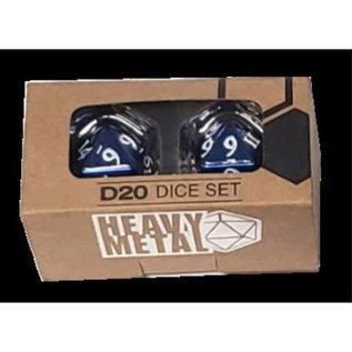 Ultra Pro Heavy Metal D20 - Blue