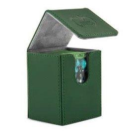 Ultimate Guard Ultimate Guard - Flip Deck Case 100+ Xenoskin - Green