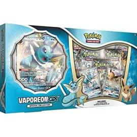 Pokemon International Pokemon: Vaporeon GX Premium Collection