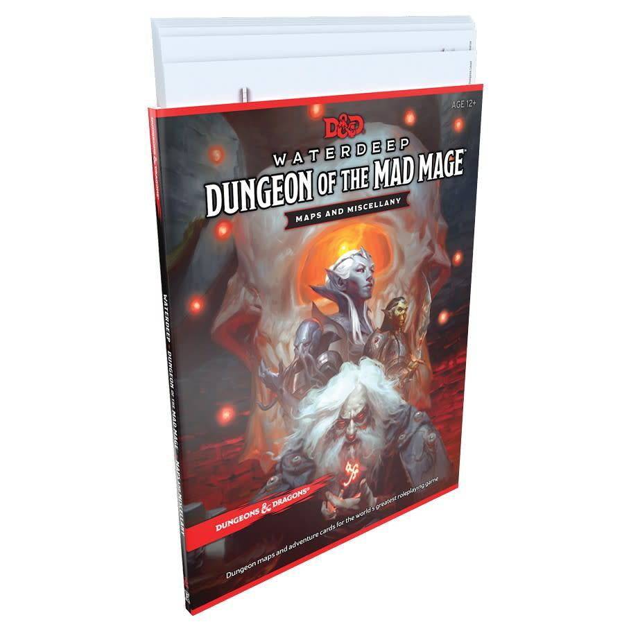 Dungeons and Dragons: Waterdeep - Dungeon of the Mad Mage Map Pack
