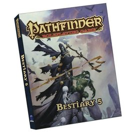 Paizo Pathfinder Roleplaying Game: Bestiary 5 Pocket Edition